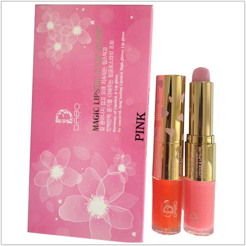 Son môi DABO Magic Lipstic & Lip Gloss