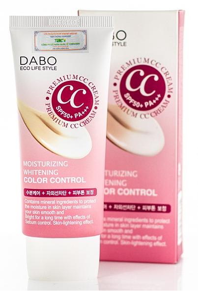 Kem CC Cao cấp trắng da DABO Premium Moisturizing SPF50 PA+++