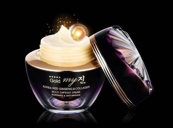 Kem Trị Nám Cao Cấp My Gold Multi Capsule Cream Hàn Quốc